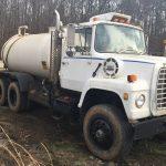 L8000 Tandem Axle Water Truck