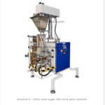 Artistick-V – Entry level auger filler stick pack machine