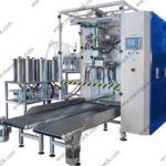 102AS – Ice pop packaging machine with aroma dosing pump